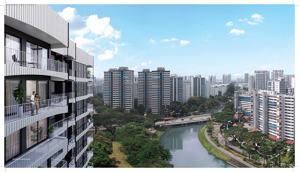 Jui Residences river
