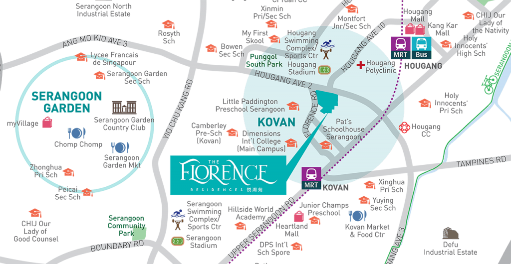 Florence Residences location
