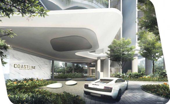 Coastline residence grand lobby
