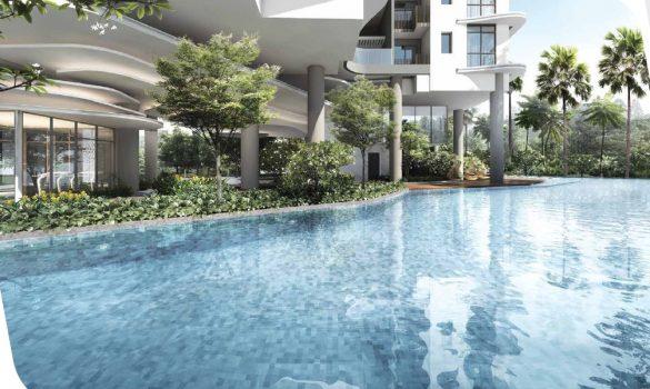 Coastline residence pool
