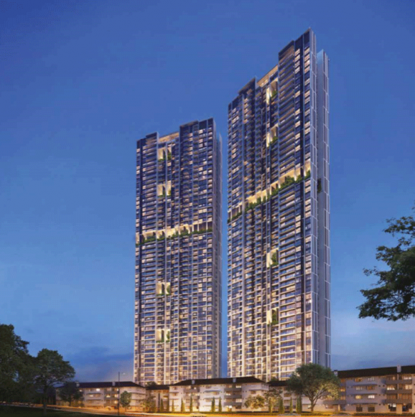 Avenue South Residence tower view